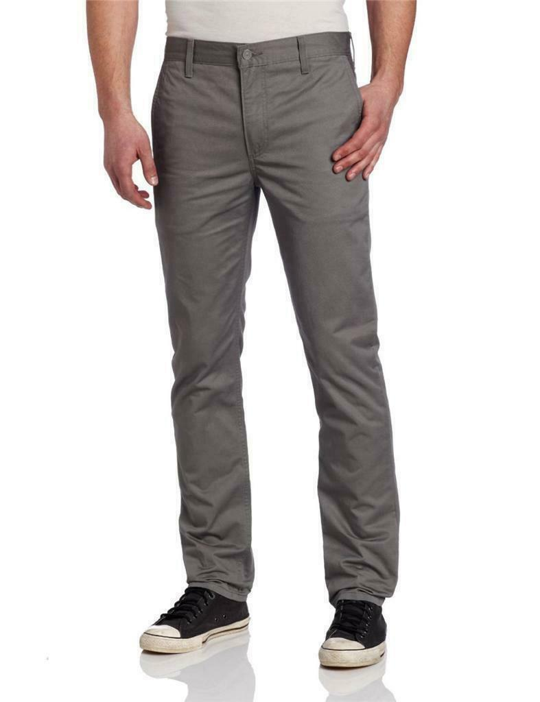 Levi's Strauss 511 Men's Original Slim Fit Jeans Pants Gray