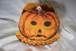 Bethany Lowe Sassy Pumpkin  Bucket for Halloween image 2