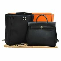 Hermes ale bag ad PM backpack black S07208 - $1,828.14