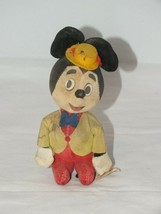 Vintage Mickey Mouse 1966 Disney Original Woolikin Japan - $12.39