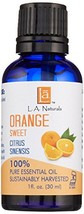 L A NATURALS Orange Sweet Essential Oil, 0.02 Pound - $16.91