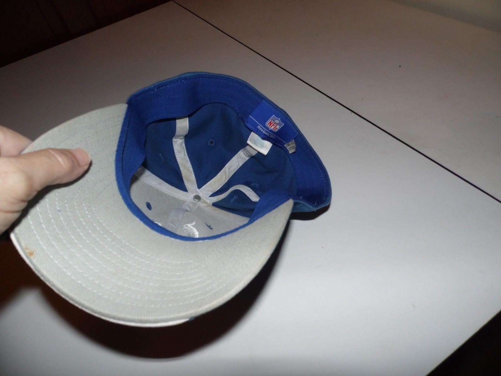 333f319eebf37 Indianapolis Colts Reebok Blue Hat Cap One and 50 similar items