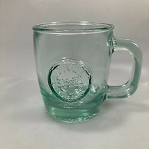 Starbucks Authentic 100% Recycled Green Glass San Miguel Mug Made in Spa... - $25.97