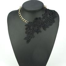 2018 New Fashion Gothic Handmade Choker Necklace Vintage Elegant Lace Fl... - $9.67