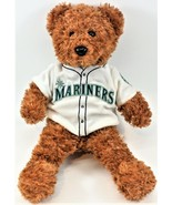 "Seattle Mariners Team Bears Plush Bear Stuffed Teddy 14"" Free Shipping - $10.88"