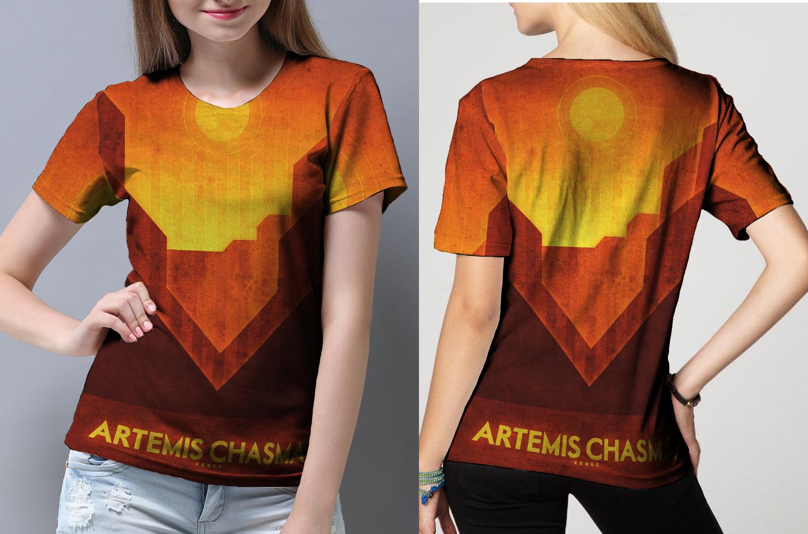 Venus artemis chasma tee women s