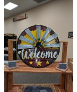 """Half-windmill """"Welcome"""" Sign - $59.00"""
