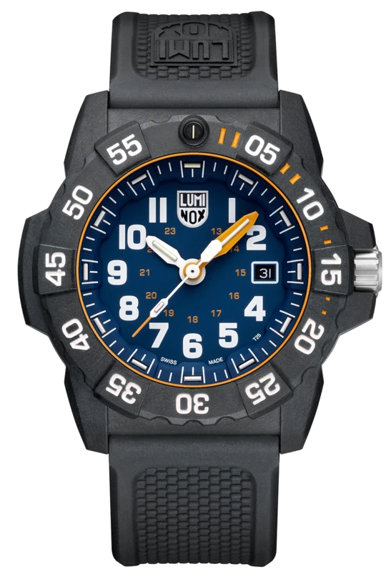 Luminox Navy SEAL Foundation Blue Dial Mens Watch XS.3503.NSF