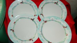 CORELLE OUTER BANKS LIGHTHOUSE LUNCH PLATES 8.5 INCH x 4 BRAND NEW FREE ... - $93.49