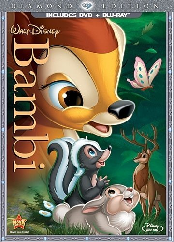 Disney Bambi [Blu-ray + DVD]