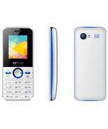 servo v8240 white single core dual sim vibration russian keyboard cell p... - $28.80