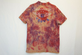 American Eagle Heavy Cotton Polo Shirt, Tie-Dye, Men's Large 8908 - $407,29 MXN