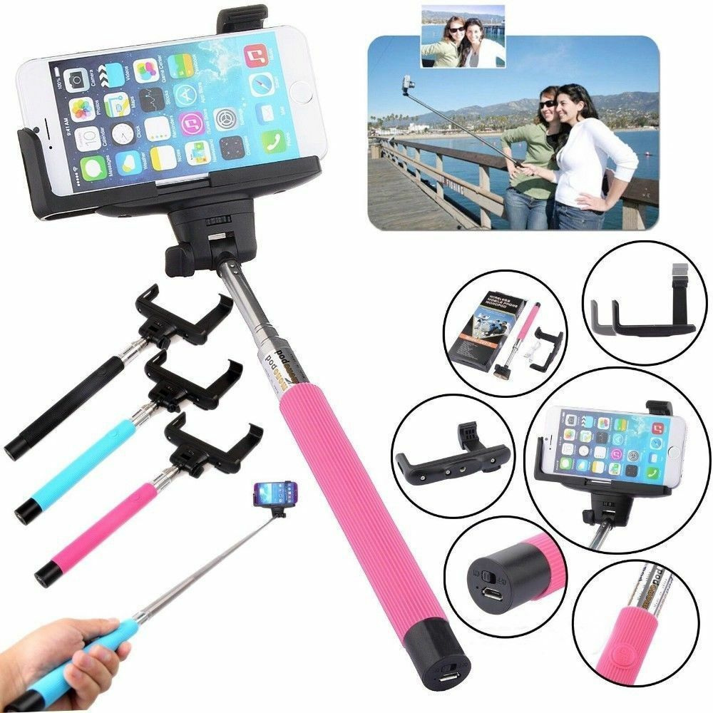 Primary image for Bluetooth Selfie Stick Shutter Extendable Handheld Monopod Holder for Smartphone