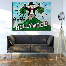"""Alec Monopoly """"Hollywood"""" HD print on canvas large wall picture 36x28"""" - $29.69"""