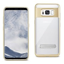 Reiko Cell Phone Case for Samsung Galaxy S8 Edge - Clear Gold - $9.40