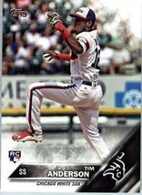 2016 Topps Update #US287 Tim Anderson Chicago White Sox Baseball Rookie ... - $13.99