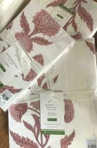Pottery Barn Annelyse Duvet Cover Blush Queen Floral Pink No Shams Annalyse - $119.00