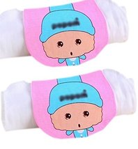 Lovely Aquarius Cotton Gauze Towel Wipe Sweat Absorbent Cloth Mat Towel 2 Pcs
