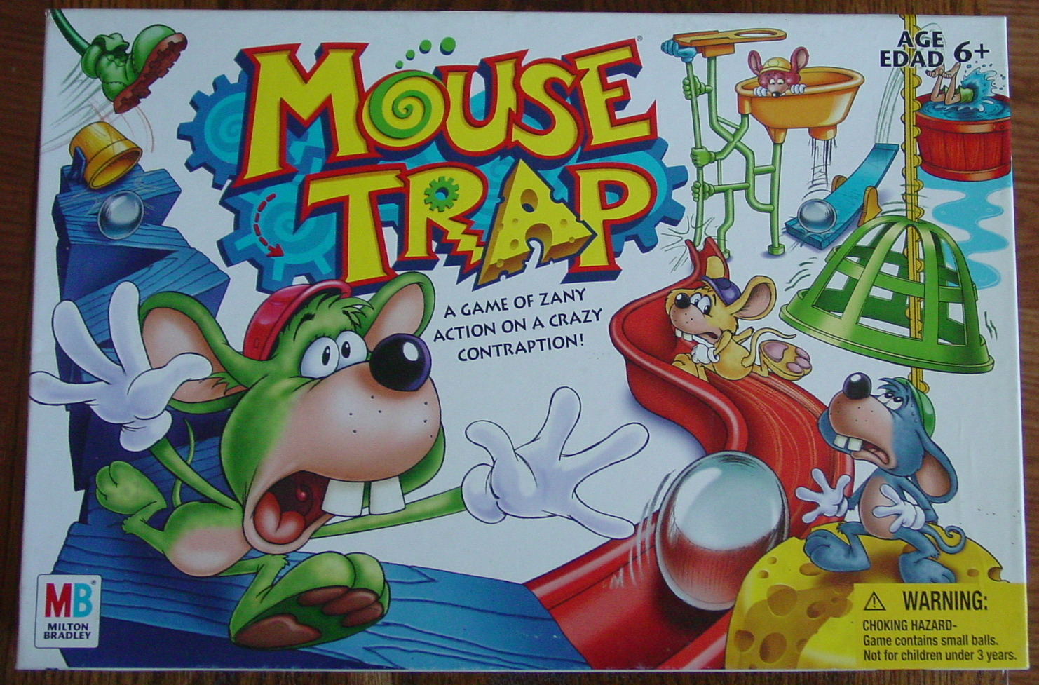 Primary image for MOUSE TRAP MOUSETRAP GAME 2005  MILTON BRADLEY HASBRO #04657 COMPLETE