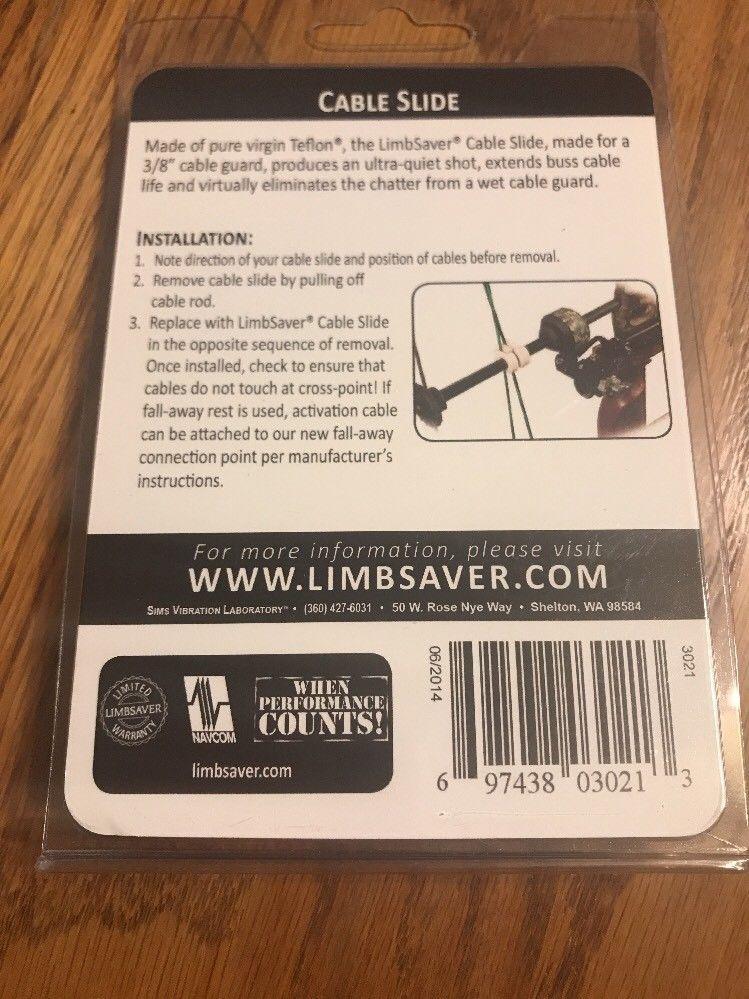 LIMBSAVER TEFLON CABLE SLIDE