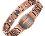 Etic bracelet for men christian fashion antique copper charm bracelet jesus christ thumb155 crop