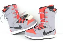 New Nike Vapen SB Mens Size 8.5 Winter Snowboarding Snowboard Boots Red ... - $272.84