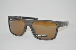 Oakley Crossrange POLARIZED Sunglasses OO9361-0757 Woodgrain W/ PRIZM Tu... - $69.29