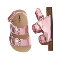 NWT Gymboree Cactus Cutie Baby Girls Pink Shimmer Beach Sandals Shoes 1 ... - $10.99