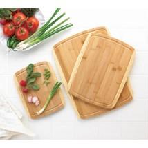 Bamboo Cutting Board Trio - $31.00