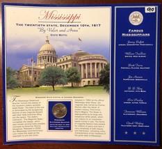 USA 2002 Mississippi Statehood 25 Quarter in Pamphlet - Brilliant UNC - $4.20