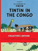 Tintin in the congo hardcover book Casterman sealed Collector's edition  image 1