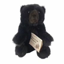 Wildlife Black Bear Hand Puppet by Folkmanis Stuffed Animal Pretend Play Plush - $16.66