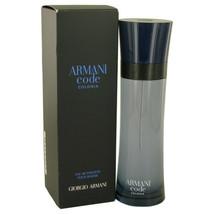 Armani Code Colonia by Giorgio Armani Eau De Toilette Spray 4.3 oz (Men) - $89.18