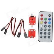 OPENJUMPER OJ-XM1134 Infrared Receiver Remote Control Module Set - Red - $15.17