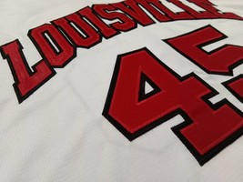 Donovan Mitchell Louisville Cardinals White College Jersey Any Size Free Wwjd - $29.99