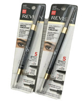 Revlon Colorstay Eyebrow Pencil Creator Grey Brown 0.23 Ounce Lot Of 2 New - $25.19