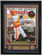George Springer Signed Framed 16x20 Sports Illustrated Cover Photo Fanatics - $349.15