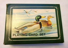 Mallards Metal Box Double Deck Playing Cards image 1