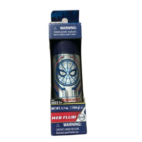 One BRAND NEW SEALED Hasbro Marvel Spider-Man Web Fluid (Blue) Web Slinger - $6.23
