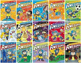 Captain Awesome Series Collection Set Books 1-15 Paperback By Stan Kirby... - $74.99