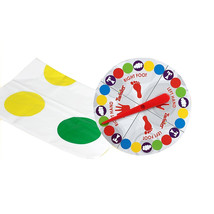 Fun Twister Educational Toy Game Pad for Kids Adult Sports Moves - $9.44