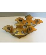 """Vintage Keller Drawer Pull Antique Brass K 10960 5.25"""" Set of 2 - $12.00"""