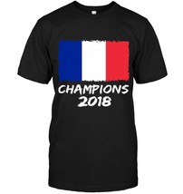 France Champions 2018 Football Jersey Soccer Shirt French - $17.99+