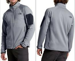 The North Face Men's Borod Full Zip Jacket, Mid Grey/TNF Black Size M, X... - $67.99