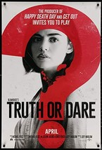 "TRUTH OR DARE - 27""x40"" D/S Original Movie Poster One Sheet 2018 Lucy Hale - $19.59"