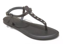 Universal Thread Women's Kylianne Vegan Summer Thong Sandals Black image 1