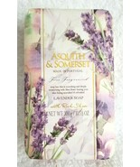 Asquith & Somerset LAVENDER Soap Fine Fragrance Shea 10.58 Oz Bar Portugal - $14.95