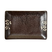Kylin Express Rectangle Ceramic Dinner Plate Creative Japanese Sushi Plate, No.9 - $23.29
