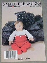 Coats & Clarks Small Pleasures Book No. 272 Afghans Baby Clothing - $4.90