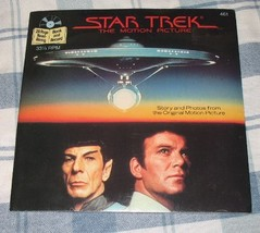 Star Trek: The Motion Picture Read-along Book & Record [Board book] Star... - $9.79